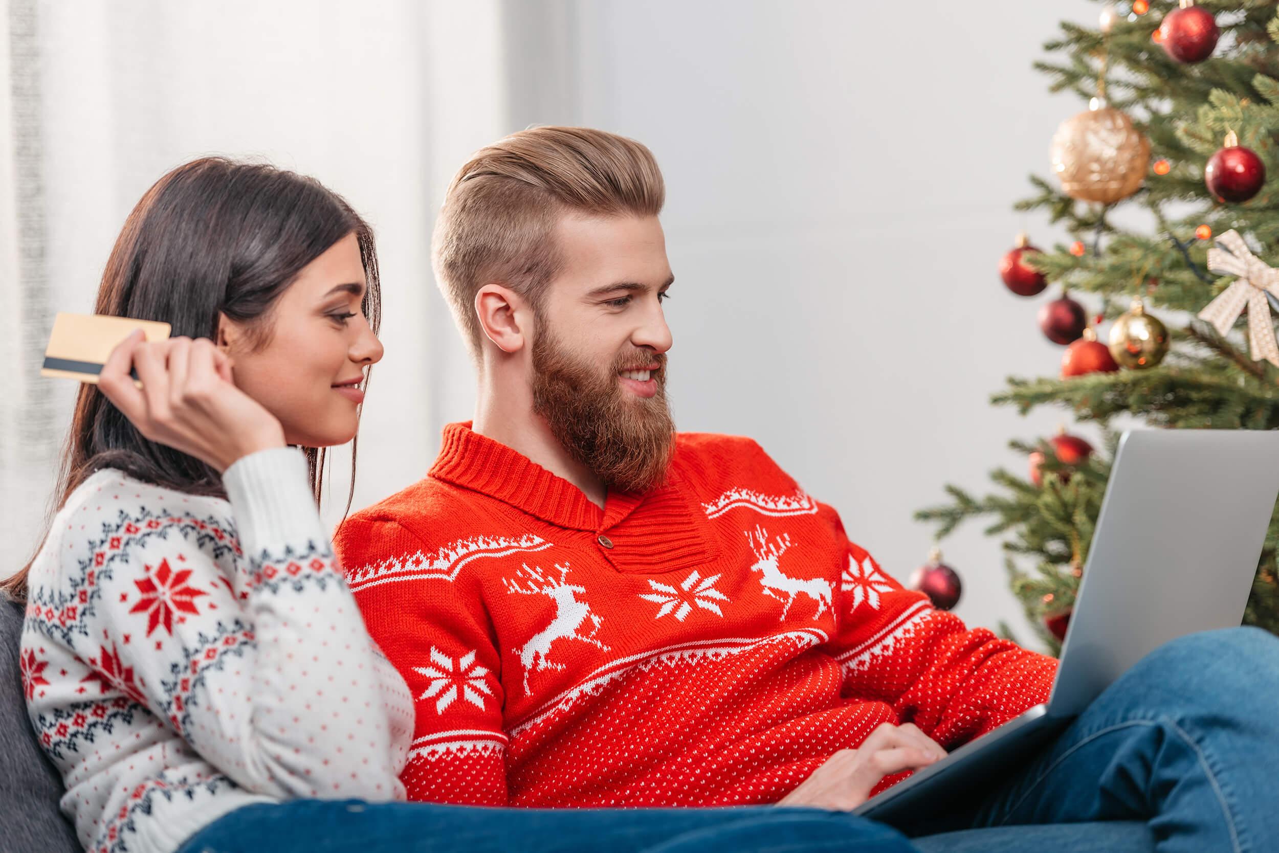 Så julhandlar du säkert på nätet